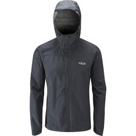 Rab Downpour Jacket Men black
